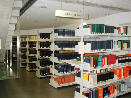 Library Shelves Bibliographies Graz