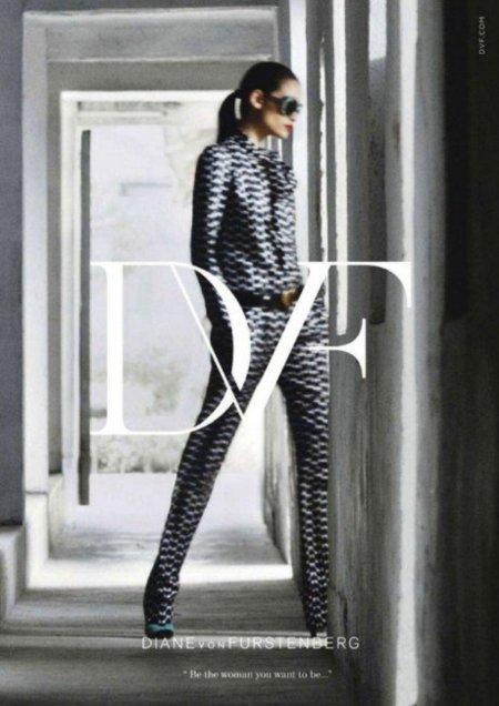 Campaña Otoño-Invierno 2011/2012 de Diane Von Furstenberg: ¿ser la mujer que deseamos ser?