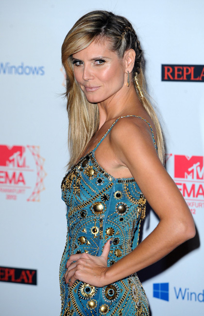 Heidi Klum MTV EMAS 2012