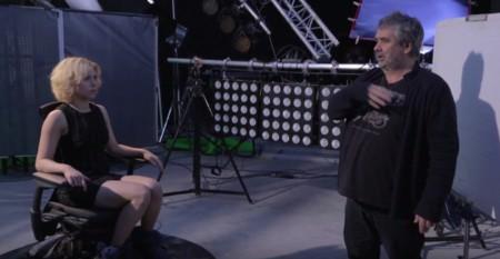 Luc Besson rodando Lucy