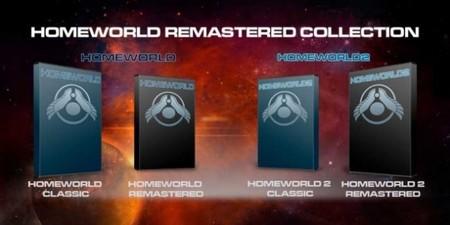 Ya conocemos detalles y fecha de lanzamiento de Homeworld Remastered Collector's Edition