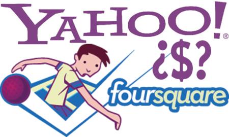 ¿Yahoo, a la caza de FourSquare?