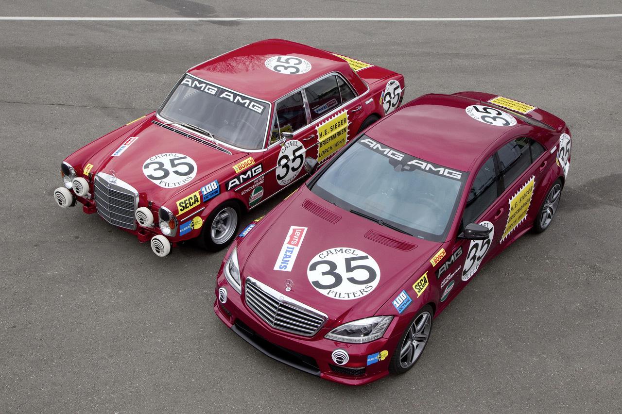 """Foto de Mercedes-Benz S 63 AMG """"Thirty-Five"""" vs Mercedes-Benz 300 SEL 6.8 AMG (1/4)"""