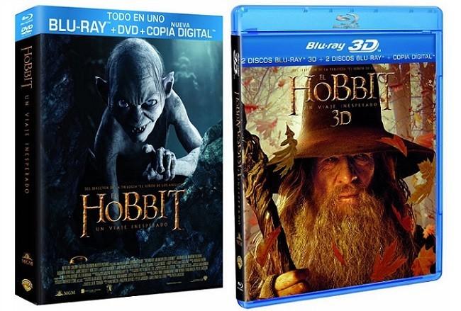 Las ediciones españoles en dvd y blu-ray de 'El hobbit: Un viaje inesperado'