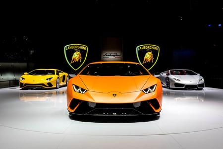 Lamborghini Salón de Ginebra 2017