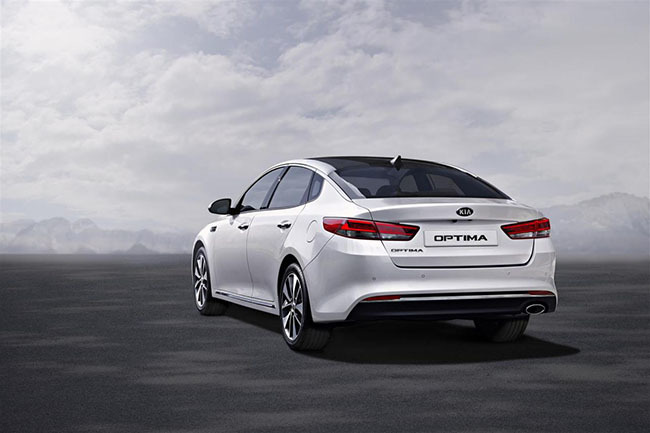 Foto de Kia Optima 2016 (EU spec) (3/6)
