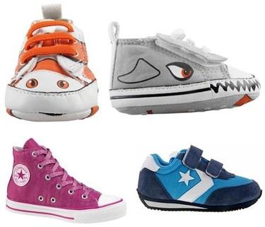 Nuevas zapatillas Converse para bebés y niños