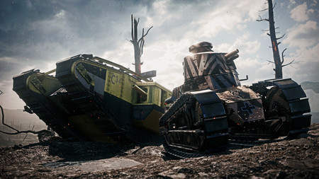Battlefield 1 Tanques