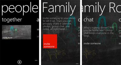 Aprovecha las capacidades de Rooms desde Windows Phone 7, iOS y Android