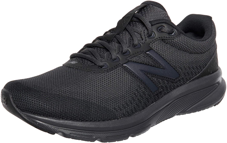 New Balance 411v2, Zapatillas para Correr Hombre, Black, 40.5