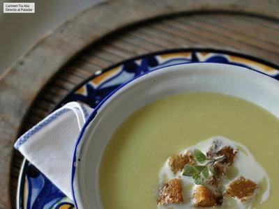 Receta de crema Parmentier: un clásico que nunca muere