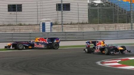 Vettel Webber Turquia F1 2010
