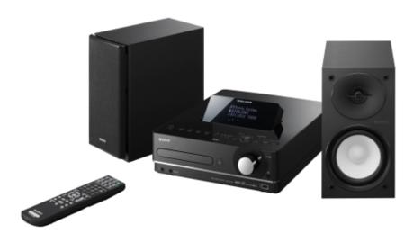 Nuevos sistema de sonido Sony GIGA JUKE con disco duro