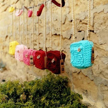 Bug Bag, bolsos de ganchillo con mucho encanto y 100% reciclados