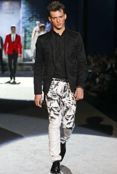 pantalón estampado primavera 2012