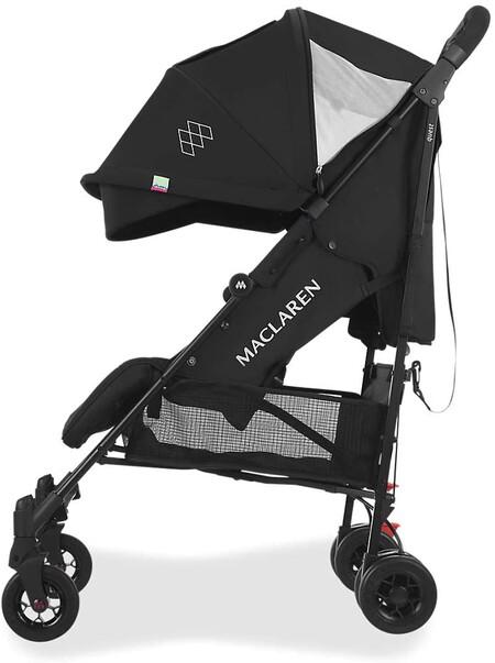La silla de paseo más práctica es esta Maclaren que encontramos a precio mínimo en el Prime Day de Amazon