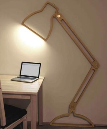 La Nepa Lamp: una lámpara flexo en dos dimensiones