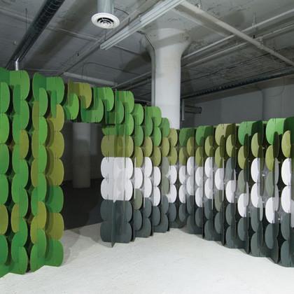Crea tu espacio con paneles de papel