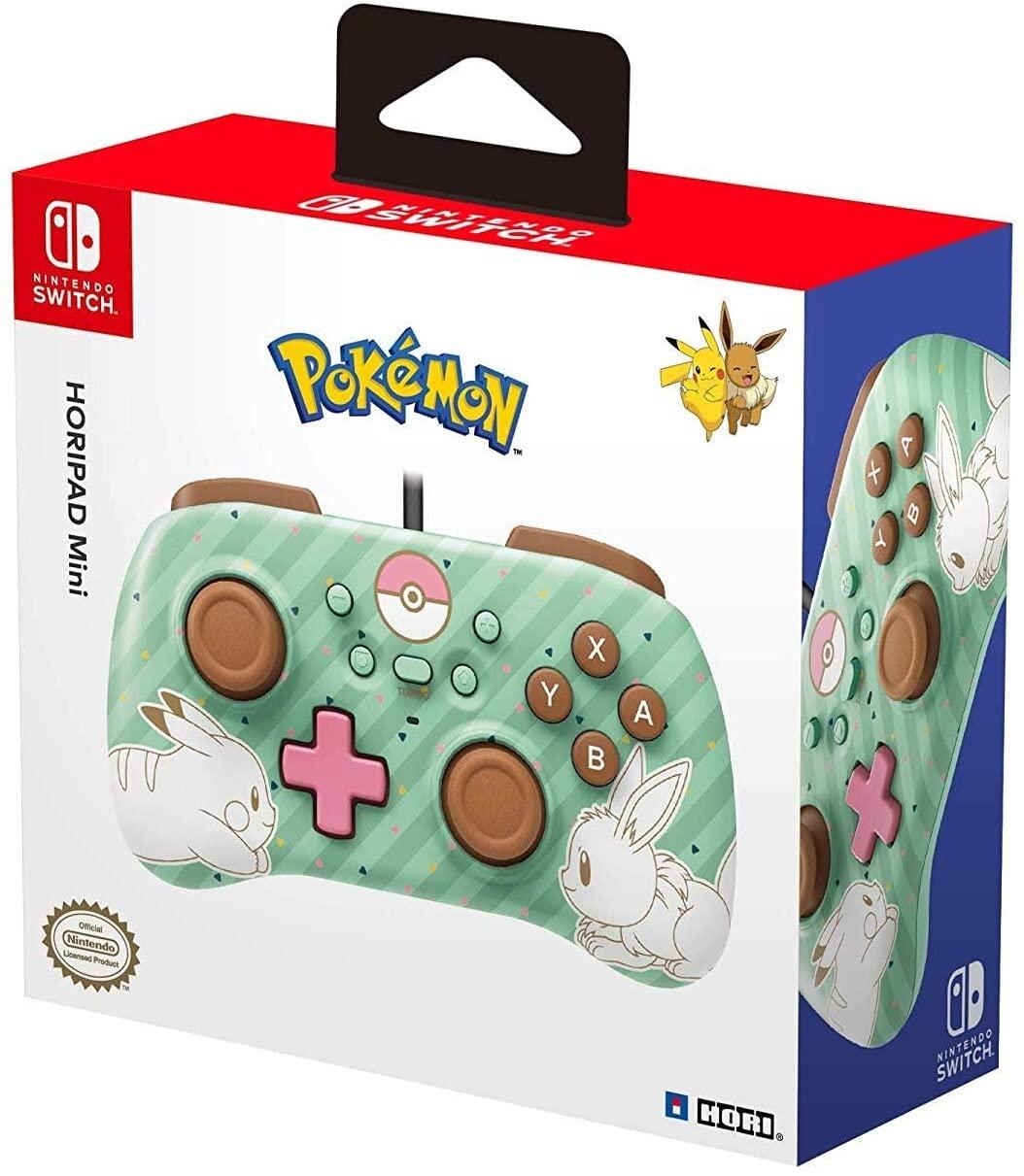 HORI HORIPAD Mini (Pikachu & Eevee) para Nintendo Switch