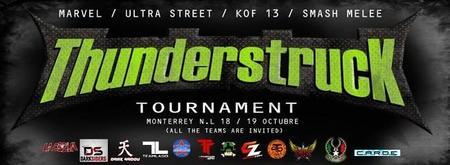 Llega el torneo Thunderstruck a Monterrey en octubre