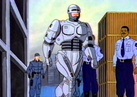 RoboCop animado