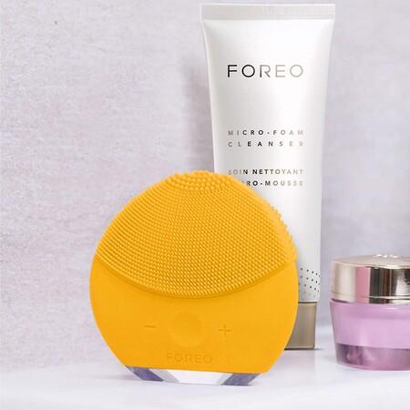Más barato todavía: el dispositivo inteligente de limpieza facial Foreo Luna Mini 2 rebajadísimo en Amazon