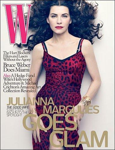 Julianna Margulies explora su lado más salvaje para W Magazine