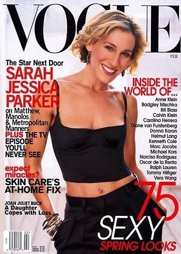 Vota por la mejor portada de Sarah Jessica Parker para Vogue: tú eliges