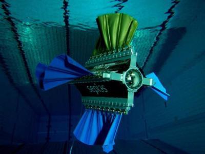 Un robot que simula nadar como un calamar puede ser el futuro de hélices más repetuosas con el entorno