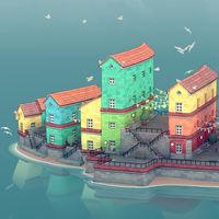 Townscaper lleva meses enamorándome con sus GIF y ahora por fin llega a Steam