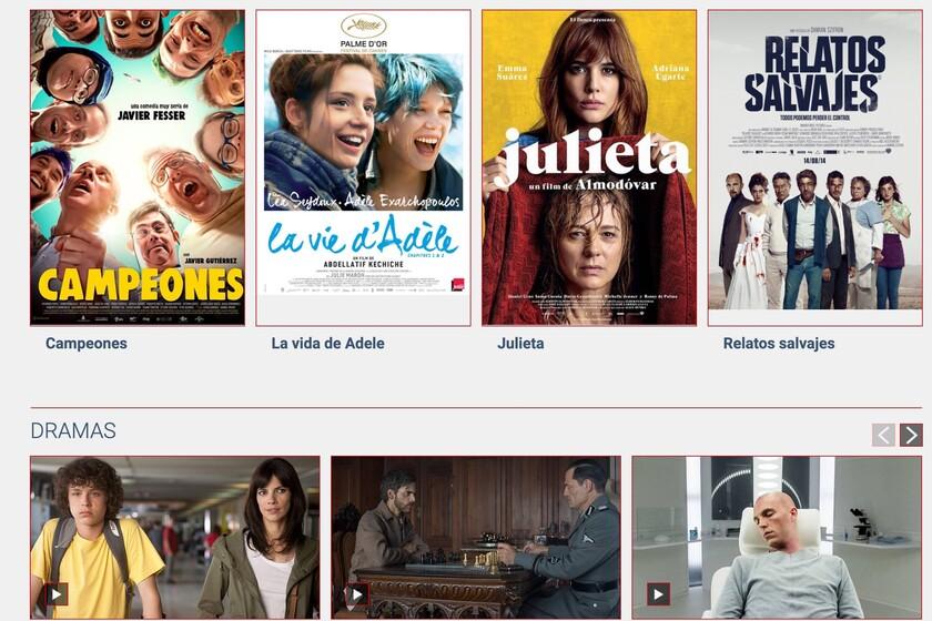 Somos Cine de RTVE sigue mejorando y ya podemos ver gratis online más de 160 películas españolas y con mayor calidad que antes