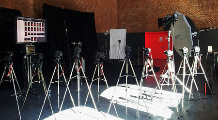 Todo preparado en la cineteca de Matadero - Madrid