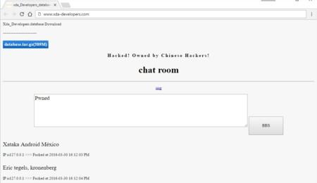 XDA Developers es hackeado momentáneamente