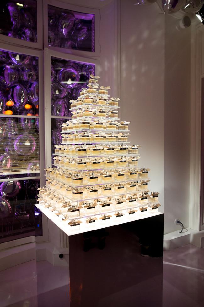 Torre de perfumes Chloé