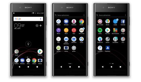 Sony Xperia Xz1, Software