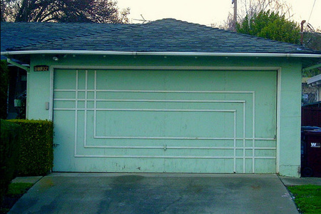 Puertas de garaje de los años 50 - 2