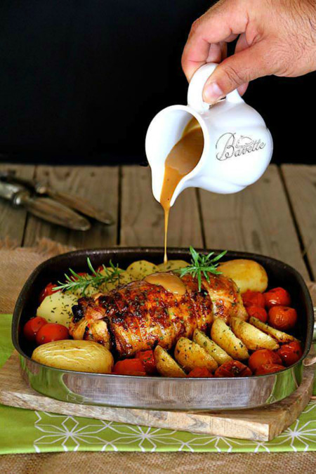 Pollo Relleno Jamon 1