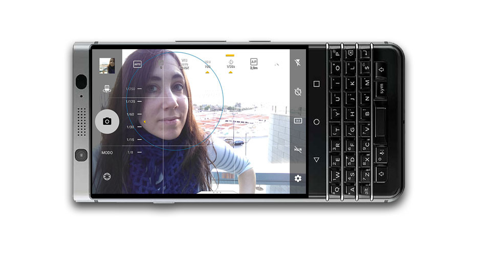 Blackberry Keyone Camara Frontal