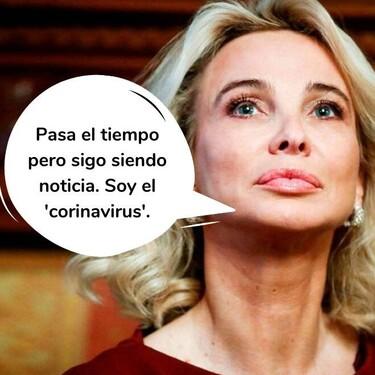 Corinna Larsen fue tachada y le prohibieron viajar junto a Juan Carlos por este motivo