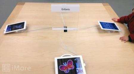 Apple reemplaza los iMac por iPad en la zona para niños de sus tiendas