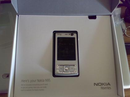 Imagen de la semana: Aquí está tu Nokia N95