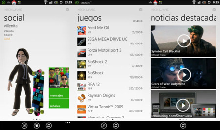 My Xbox LIVE llega a Android y se actualiza en iOS