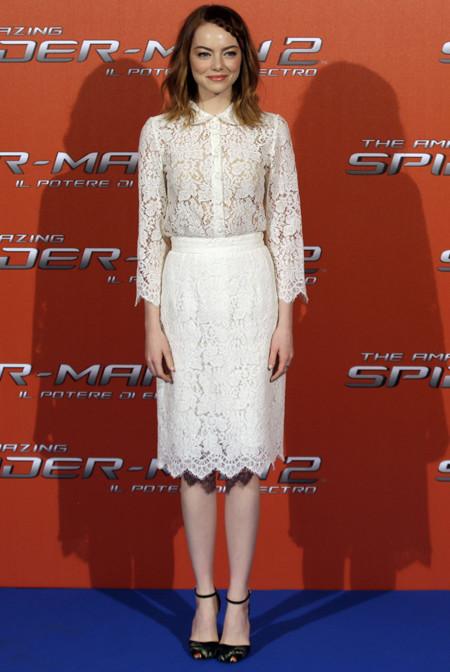 Emma Stone Dolce Gabbana