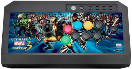 El joystick de Marvel Vs. Capcom 3