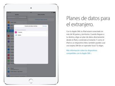 La cobertura de la Apple SIM para el iPad llega a Ecuador, Argentina y Colombia entre otros países