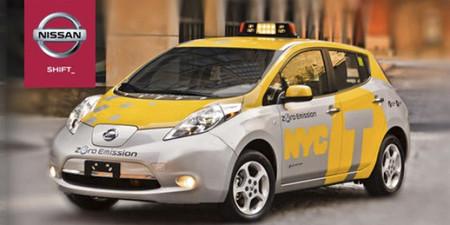 El Nissan Leaf inicia un programa piloto como taxi en Nueva York