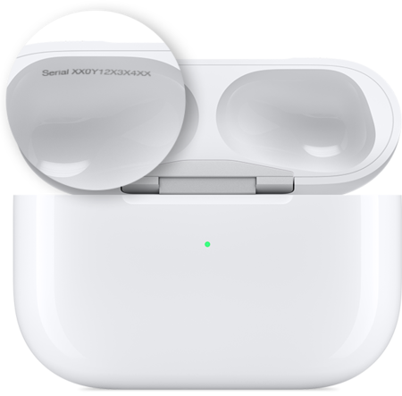 Airpods Pro Case Serial Number Callout