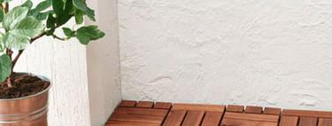 ¿Quieres renovar el suelo de tu balcón o terraza? Ikea tiene la solución más fácil (y bonita) para hacerlo sin obras