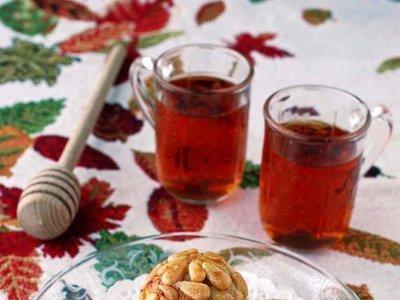 Panellets sencillos de miel y naranja. Receta rápida