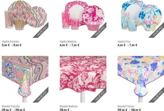 Zara Home colección Picnic 2